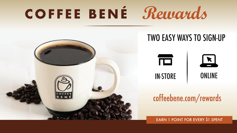 Coffee Bene Rewards Info